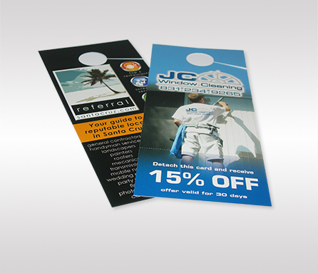Double Sided Door Hangers