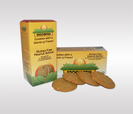 Encompass Cookies Package Design