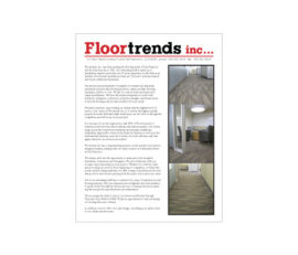 Floortrends, inc. Advertising Flier