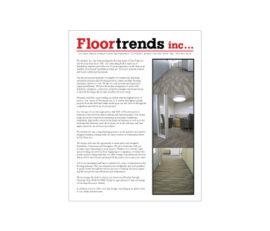 Floortrends, inc. Advertising Flier