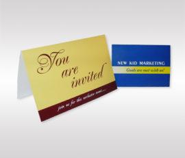 Folded Invitation Cards
