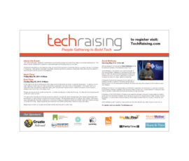 TechRaising Poster