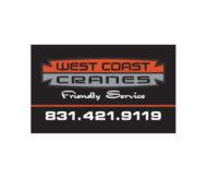 West Coast Cranes Banner