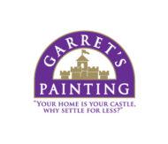 Garret's Painting Logo – Brand Identity Design
