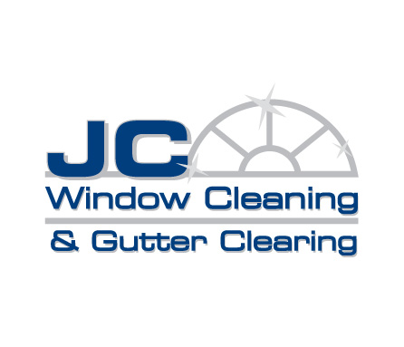 Jc window cleaning logo brand identity design schafer for Window cleaning logo ideas
