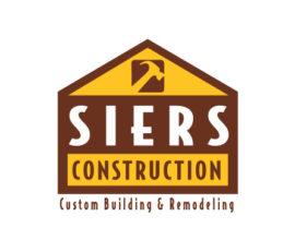 Siers Construction Logo – Brand Identity Design