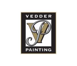 Vedder Painting Logo – Brand Identity Design